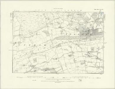 Dorset LV.NW - OS Six-Inch Map