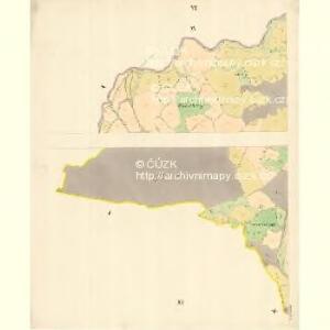 Stittna - m3061-1-005 - Kaiserpflichtexemplar der Landkarten des stabilen Katasters