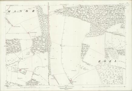 Gloucestershire XX.16 (includes: Hawling; Sudeley; Temple Guiting) - 25 Inch Map