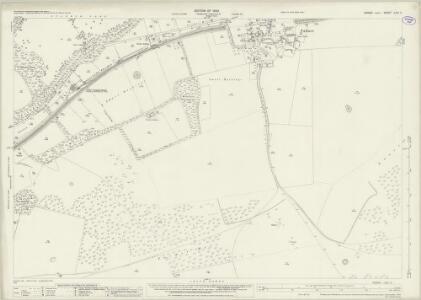 Sussex LXVI.3 (includes: Brighton; Falmer) - 25 Inch Map