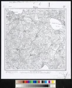 Meßtischblatt 302 : Hütten, 1904