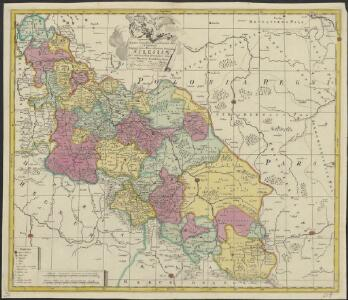 Mappa geographica exactissima continens Imperatoris Hæreditarium Dominium Silesiam, nec non eiusdem Provincias interiores Ducatus, Comitatus, Baronatus etc.