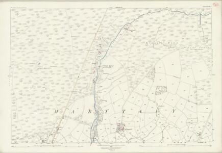 Devon XCVIII.5 (includes: Marytavy) - 25 Inch Map