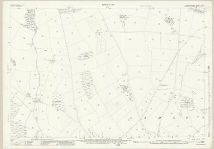 Staffordshire XXII.8 (includes: Ashley; Maer; Mucklestone) - 25 Inch Map