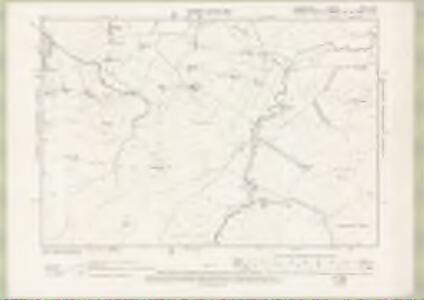 Lanarkshire Sheet XXXV.NE - OS 6 Inch map