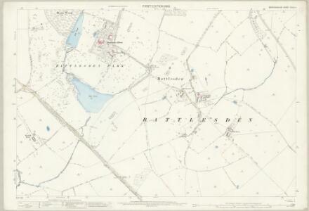 Bedfordshire XXVIII.4 (includes: Battlesden; Heath and Reach; Hockliffe; Milton Bryan; Potsgrove) - 25 Inch Map