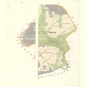 Wölmsdorf - c8581-2-002 - Kaiserpflichtexemplar der Landkarten des stabilen Katasters