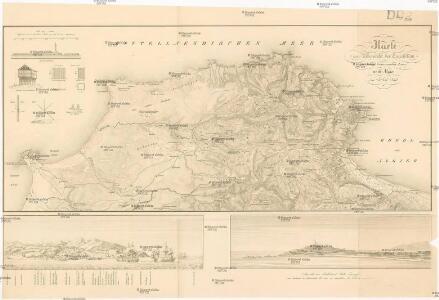 Karte zur Uibersicht der Expedition der königl. französischen Armee nach Algier in Jahre 1830