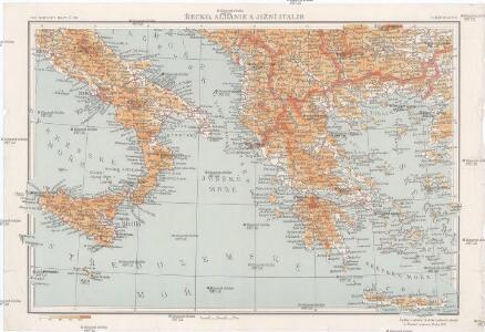 Řecko, Albanie a jižní Italie [sic]