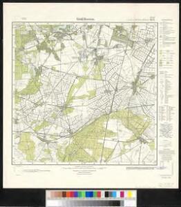 Meßtischblatt 1975 : Groß Beeren, 1933