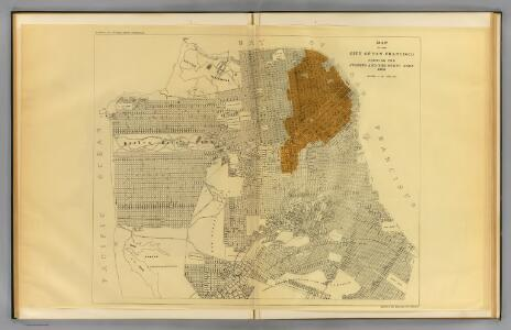 San Francisco burnt area, 1906.