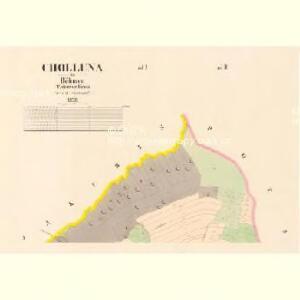 Cholluna - c2562-1-002 - Kaiserpflichtexemplar der Landkarten des stabilen Katasters