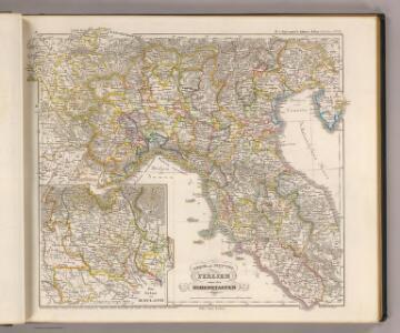 Ober und Mittel Italien unter den Hohenstaufen.