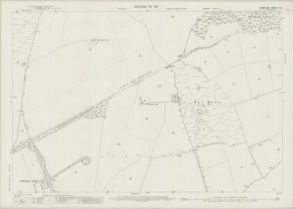 Hampshire and Isle of Wight IX.15 (includes: Kingsclere; Overton) - 25 Inch Map