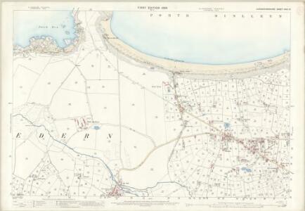 Caernarvonshire XXXI.12 (includes: Nevin) - 25 Inch Map
