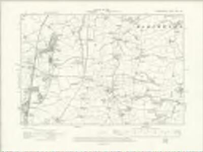 Denbighshire XXXV.NE - OS Six-Inch Map