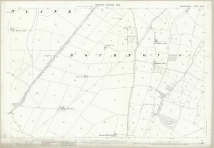 Gloucestershire XXVIII.16 (includes: Aston Blank; Bourton on the Water; Clapton) - 25 Inch Map