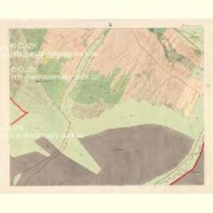 Alt Hrosenkau (Stary Hrasenkow) - m2868-1-009 - Kaiserpflichtexemplar der Landkarten des stabilen Katasters