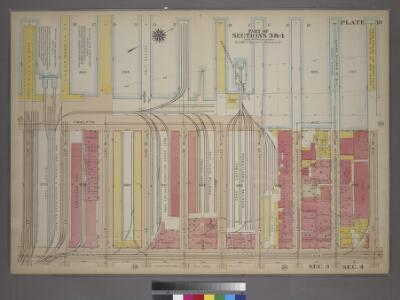 Plate 18, Part of Sections 3&4: [Bounded by (Hudson River Docks) Twelfth Avenue, W. 41st Street, Eleventh Avenue and W. 32nd Street.]