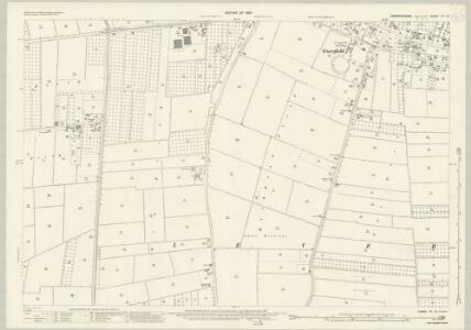 Cambridgeshire IV.13 (includes: Leverington; Newton; Parson Drove) - 25 Inch Map