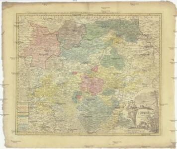 Landgraviat Thuringiae tabula generalis in suos principatvs et sta[t]vs accurate divi[sa]