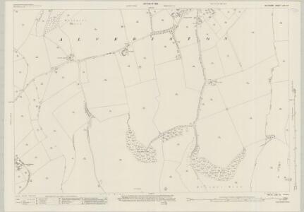 Wiltshire LXIX.16 (includes: Alvediston; Berwick St John; Ebbesbourne Wake) - 25 Inch Map