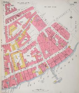 Insurance Plan of London Vol. V: sheet 110