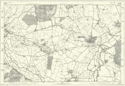 Hertfordshire XXXIX - OS Six-Inch Map