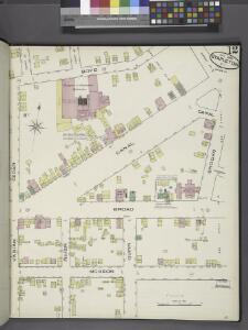 Staten Island, Plate No. 12 [Map bounded by Boyd, Brooks, Mc Keon, Varian Cedar]