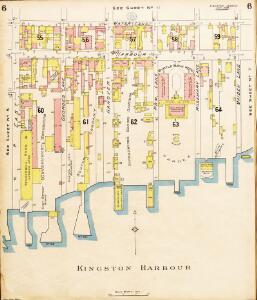 Insurance Plan of Kingston, Jamaica (Sheet 6)