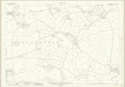 Monmouthshire XXIX.11 (includes: Bishopston; Cemais; Langstone; Llanfarthin) - 25 Inch Map