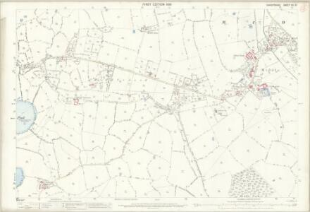 Shropshire XXI.13 (includes: Baschurch; Myddle) - 25 Inch Map