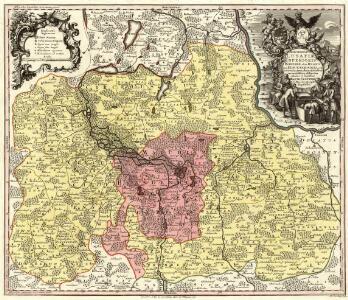 Marchionatus Lusatiae Inferioris Bohemiae olim Regno jam Elect. Saxoniae subjectus in Circulos, Dynastias et Praefect accuratissime distinctus