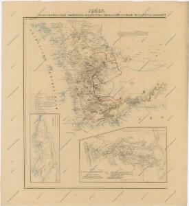 Fünf Karten zu C. Ritter ́s Erdkunde von Arabien