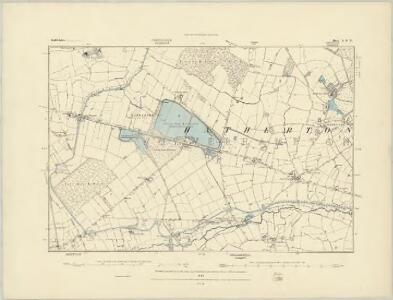 Staffordshire L.SW - OS Six-Inch Map