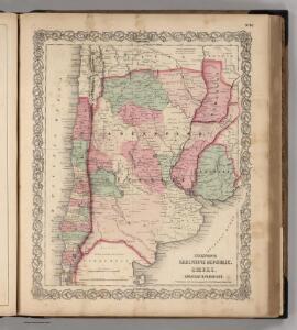 Argentina Republic, Chili, Uruguay & Paraguay.