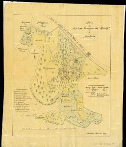 Plan des Missions-Compound Upway in Merkara