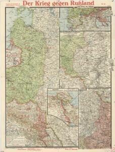 Paasche's Frontenkarte, Nr.12. Der Krieg gegen Russland