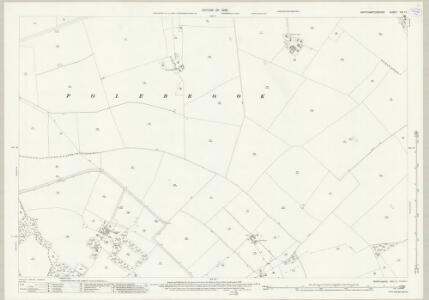 Northamptonshire XIX.11 (includes: Hemington; Lutton; Polebrook) - 25 Inch Map