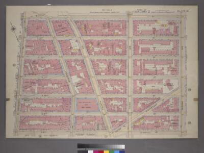 Plate 30, Part of Section 2: [Bounded by E. 14th Street, Second Avenue, E. 8th Street and University Place.]
