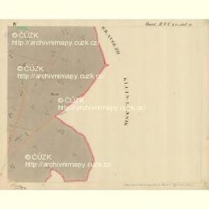 Trschitz - m3142-1-006 - Kaiserpflichtexemplar der Landkarten des stabilen Katasters