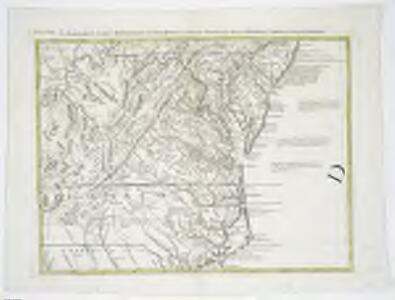 Il Maryland, il Jersey Meridionale, la Delaware e la parte Orientale della Virginia, e Carolina Settentrionale.