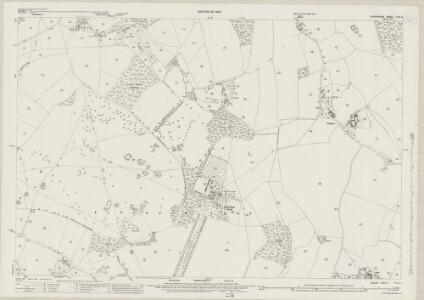 Shropshire LVIII.2 (includes: Acton Round; Astley Abbotts; Aston Eyre; Barrow; Morville) - 25 Inch Map