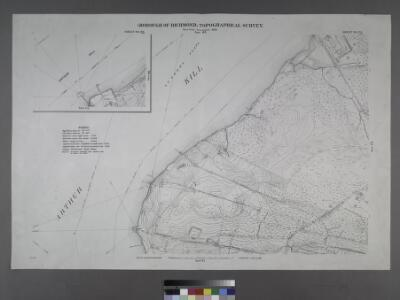 Sheet Nos. 73 & 65. [Sheet No. 65. IncludesFresh Kills Road and (Port Mobil.)- Sheet No. 73. [Includes International Ultra Marine Works.]; Borough of Richmond, Topographical Survey.