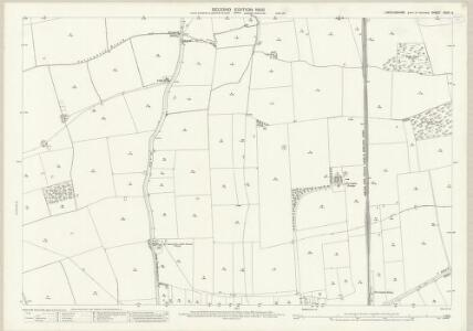 Lincolnshire XCVII.3 (includes: Ashby De La Launde and Bloxholm; Digby; Dorrington; Ruskington) - 25 Inch Map