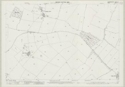 Cambridgeshire LX.1 (includes: Great Abington; Great Chesterford; Hildersham; Linton) - 25 Inch Map