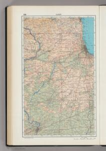 208.  Illinois.  The World Atlas.