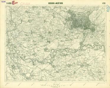 III. vojenské mapování 4769
