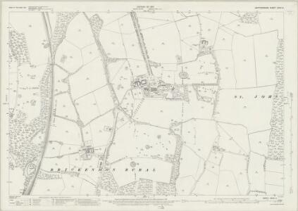 Hertfordshire XXXVI.3 (includes: Bayford; Brickendon Liberty; Hertford) - 25 Inch Map