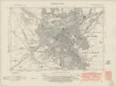 Wiltshire XV.NE - OS Six-Inch Map